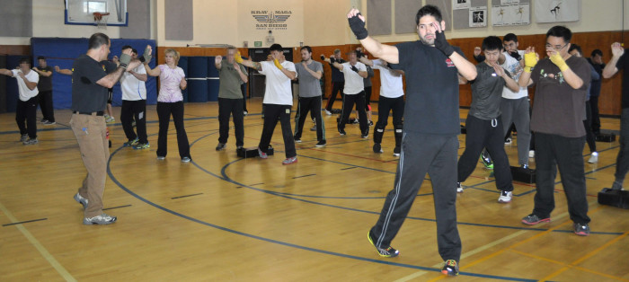 FIRST CLASS of SESSION @ Lawrence Family JCC | San Diego | California | United States